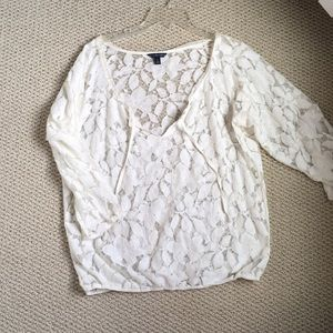 American Eagle netted top